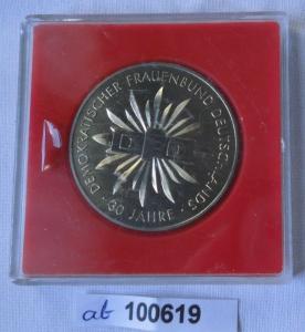 DDR Medaille 30 Jahre DFD Frauenbund im Etui (100619)