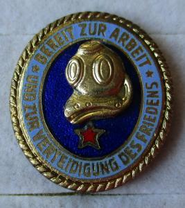 DDR Leistungsabzeichen der Seesportprüfung Tauchertechnisch 1 Stern (116589)