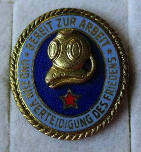 DDR Leistungsabzeichen der Seesportprüfung Tauchertechnisch 1 Stern (116914)