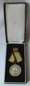 Medaille für treue Dienste in der NVA nat.Volksarmee in Silber 900er Ag (109258)