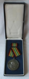 Medaille für treue Dienste in der NVA nat.Volksarmee in Silber 900er Ag (103425)