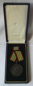 Medaille für treue Dienste in der NVA nat.Volksarmee in Silber 900er Ag (100791)