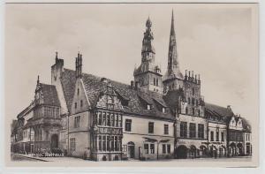 68013 Ak Lemgo Rathaus um 1930
