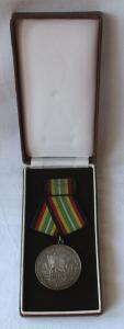 Medaille für treue Dienste in der NVA nat.Volksarmee in Silber 900er Ag (103310)