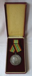 Medaille für treue Dienste in der NVA nat.Volksarmee in Silber 900er Ag (106317)