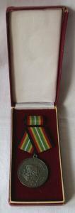Medaille für treue Dienste in der NVA nat.Volksarmee in Silber 900er Ag (104129)