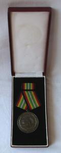 Medaille für treue Dienste in der NVA nat.Volksarmee in Silber 900er Ag (100910)