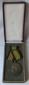 Medaille für treue Dienste in der NVA nat.Volksarmee in Silber 900er Ag (104638)