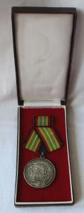 Medaille für treue Dienste in der NVA nat.Volksarmee in Silber 900er Ag (105746)