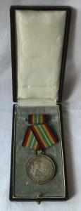 Medaille für treue Dienste in der NVA nat.Volksarmee in Silber 900er Ag (101380)