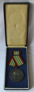Medaille für treue Dienste in der NVA nat.Volksarmee in Silber 900er Ag (107393)
