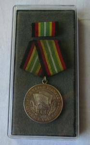 Medaille für treue Dienste in der NVA nat.Volksarmee in Silber 900er Ag (102718)