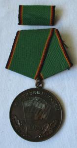 Medaille für treue Dienste in der Kasernierten Volkspolizei KVP im Etui (103517)