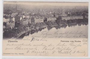 85261 AK Chemnitz - Panorama vom Norden - Totalansicht 1901
