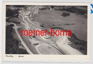 85410 Foto Ak Flensburg Grenze um 1950