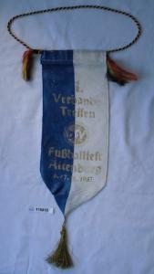 Seltener DDR Wimpel 1.Verbandstreffen Fussballfest Altenburg 1987(115518)