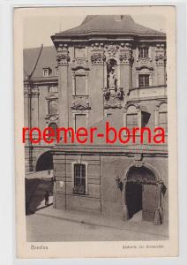 81814 Ak Breslau Südseite der Universität 1928