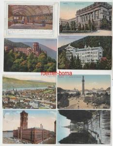 100 interessante alte Ansichtskarten um 1910-1940 (A) (76789)