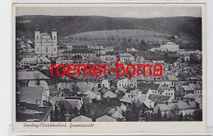 70876 Ak Sternberg Šternberk Ostsudetenland Gesamtansicht 1940