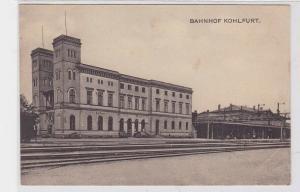 90606 Feldpost Ak Kohlfurt Węgliniec Bahnhof 1916