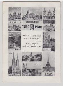 89874 AK Ein Ungar auf der Weltreise 1930-1940, Ansichten seiner Reisestationen