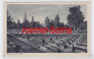 70050 Ak Lamsdorf O.S. Łambinowice Soldatenfriedhof um 1940