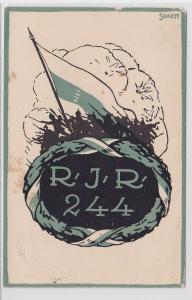 77212 Feldpost Ak Reserve Infanterie Regiment 244, 1916