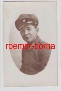 81573 Foto Ak Soldat der Feldflieger Abteilung 2 im 1.Weltkrieg