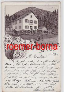 80565 Ak Gruss aus Ammerwald Tirol 1912
