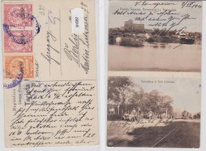 91057 Ak Puerto Sajonia Cerveceria la Paraguaya 1910
