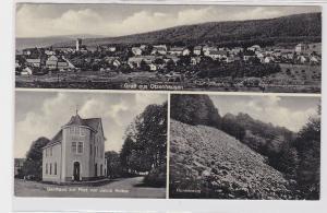 92319 AK Gruß aus Otzenhausen - Gasthaus zur Post von Jakob Reiber, Hunnenring