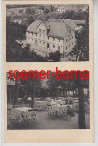 80253 Ak Berneck im Fichtelgebirge Hotel zur Post um 1930