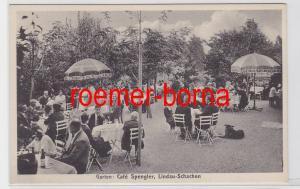 82058 Ak Lindau-Schachen Garten Café Spengler um 1930