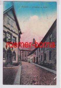 81367 Ak Rodach Kirchgasse m. Kirche 1915