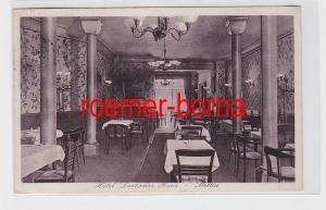81455 Ak Stettin Hotel Deutsches Haus Gastraum 1929