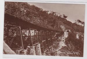 82609 Foto Ak São Paulo Brasilien Viaducto da Serra (S.P. Railway) 1914