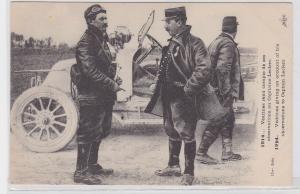 65636 Ak altes französisches Automobil im 1.Weltkrieg