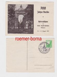 60607 Ak 700 Jahre Berlin Heimatschau im Verw.Bezirk Pankow 1937