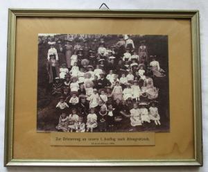 Bild Zur Erinnerung an unsern 1. Ausflug nach Altengroitzsch 1906 (125609)