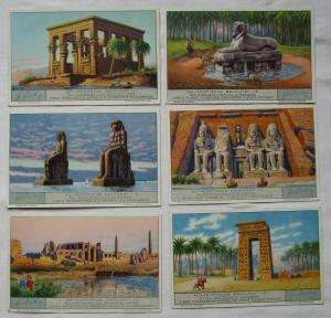 Liebigbilder Serie Nr. 999 Alt-Ägyptische Baukunst 1930 (4/123986)