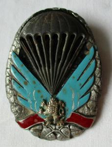 Orden CSSR Tschechoslowakei Fallschirmjäger Abzeichen Silber Airborn (133318)