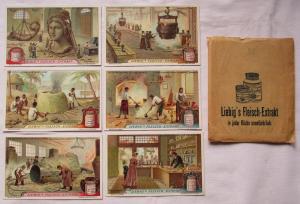 Liebigbilder Serie Nr. 918 Die Entwicklung der Giesskunst 1924 (4/121800)