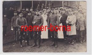 81582 Foto Ak Deutscher General mit Großkreuz mit Eichenlaub 1918