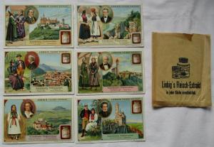 Liebigbilder Serie Nr. 909 Schwäbische Volkstrachten 1914-1917 (4/125642)