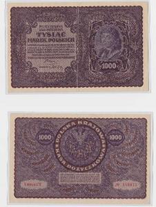 1000 Mark Marek Polskich Banknote Polen 1919 (118321)