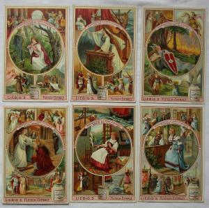 Liebigbilder Serie Nr. 559 Frauengestalten Opern Richard Wagners 1903 (5/125678)