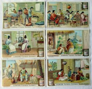 Liebigbilder Serie Nr. 644 Im Reiche der Nähnadel Jahrgang 1905 (6/131761)