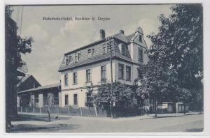 87457 AK Beverungen an der Weser - Bahnhofs-Hotel, Besitzer R. Deppe