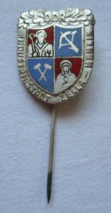 Alte DDR Abzeichen NAW-Nationales Aufbauwerk Zella Mehlis (116555)