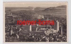 81693 Foto Ak Jena Zeisswerke Fernsicht Gaschwitz u. Leuchtenburg 1933
